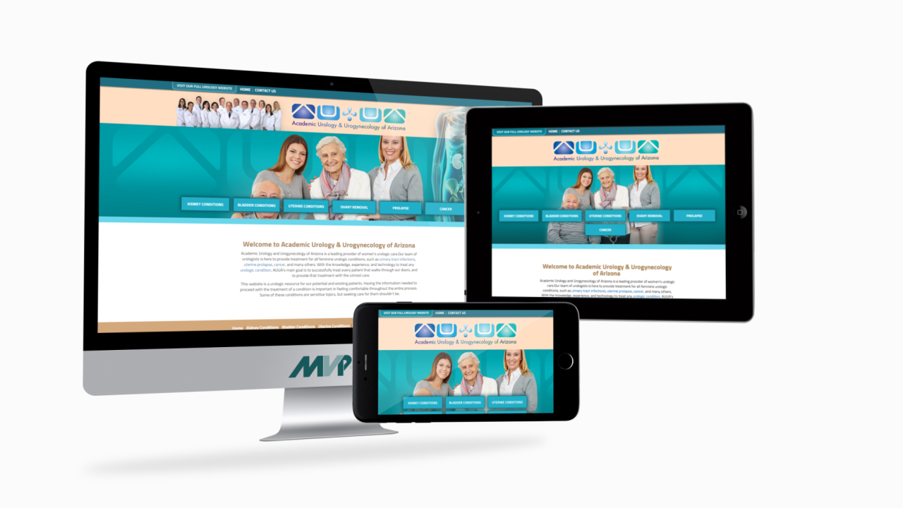 AUUA Women's and Men's Urology Satellite Websites