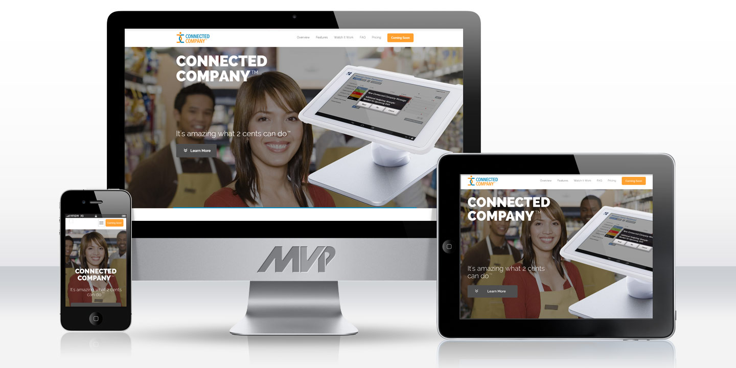 Connected Company Responsive Website
