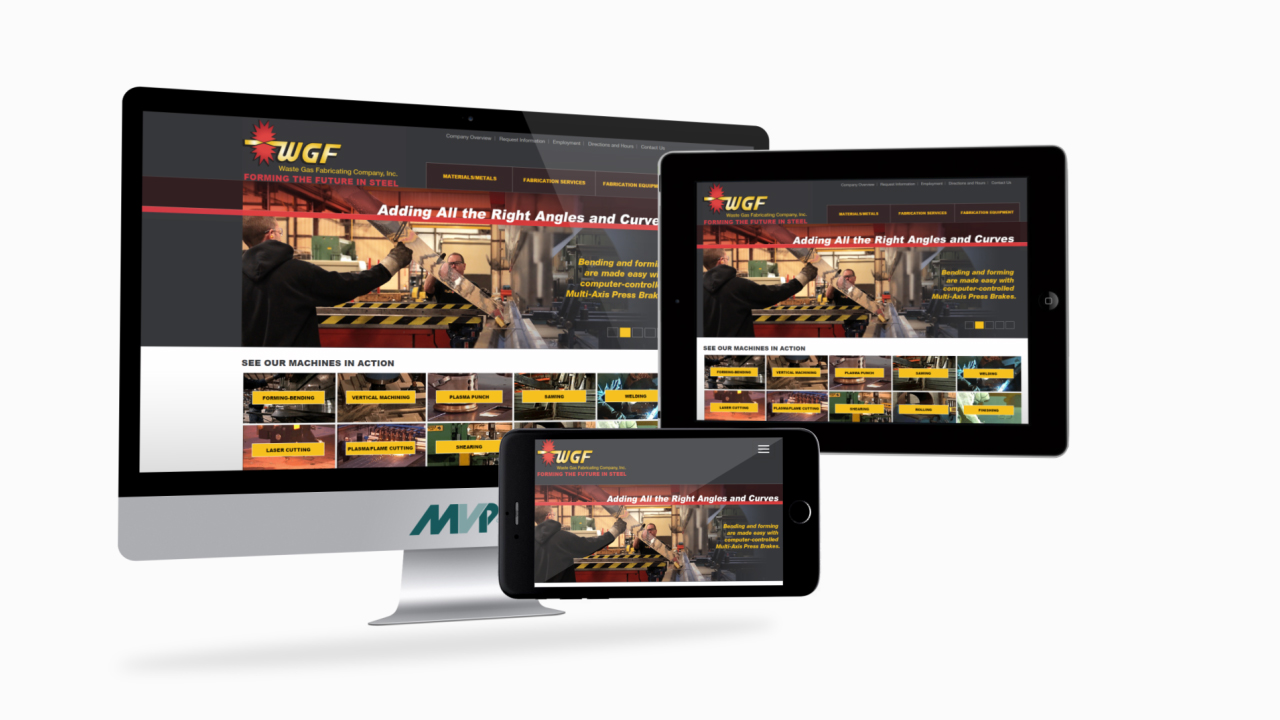Waste Gas Fabricating Co. Responsive Website