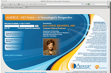 Amerge CME Website