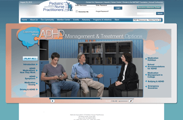NAPNAP Patient Education Videos